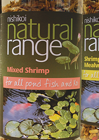 Packaging design for fish food jars